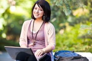 studentin campus