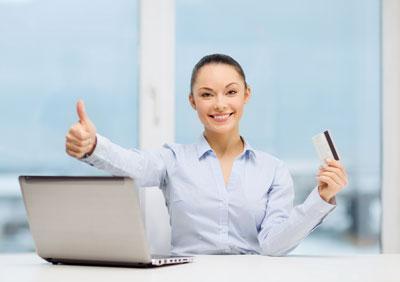 unternehmerin kreditkarte